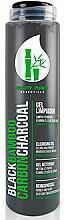 Парфюмерия и Козметика Почистващ гел за лице - Diet Esthetic Black Bamboo Carbon Charcoal Cleansing Gel
