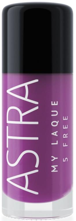 Лак за нокти - Astra Make-up My Laque 5 Free