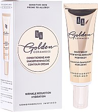 Парфюми, Парфюмерия, козметика Подхранващ крем за околоочна зона - AA Cosmetics Golden Conditioning and Smoothening Eye Contour Cream