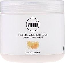Парфюмерия и Козметика Захарен пилинг за тяло - Naturativ Cuddling Body Sugar Scrub