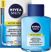"""Парфюми, Парфюмерия, козметика Афтършейв """"енергия"""" - Nivea For Men Skin Energy After Shave Lotion"""