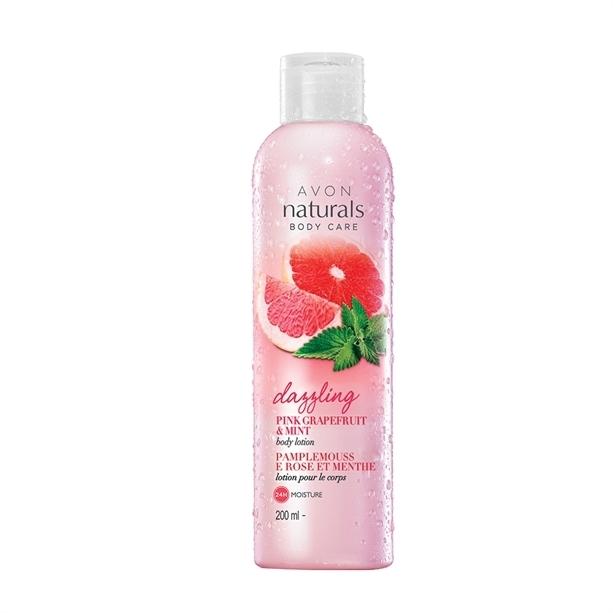 """Лосион за тяло """"Розов грейпфрут и мента"""" - Avon Naturals Body Lotion — снимка N1"""
