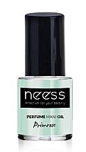 Парфюми, Парфюмерия, козметика Масло за нокти - Neess Perfume Mani Oil Primrose