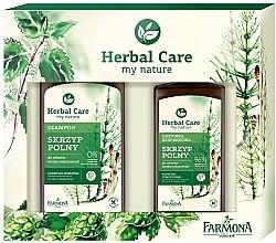 Парфюми, Парфюмерия, козметика Комплект - Farmona Herbal Care Skrzyp Polny (shamp/330ml + cond/200ml)