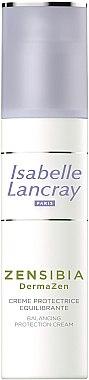 Защитен крем за лице - Isabelle Lancray Zenzibia DermaZen Balancing Protection Cream — снимка N2