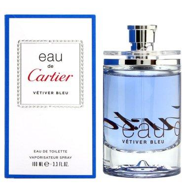 Cartier Eau de Cartier Vetiver Bleu - Тоалетна вода — снимка N2