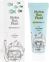Парфюмерия и Козметика Слънцезащитен флуид за лице - Village 11 Factory Hydra Sun Fluid SPF 50+ PA++++