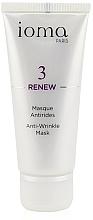 Парфюмерия и Козметика Антистарееща маска за лице за всеки тип кожа - Ioma 3 Renew Anti-Wrinkle Mask