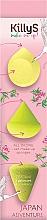 Парфюмерия и Козметика Комплект гъби за грим - KillyS Japan Adventure