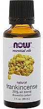 Парфюмерия и Козметика Етерично масло от тамян - Now Foods Essential Oils Frankincense 20% Oil Blend