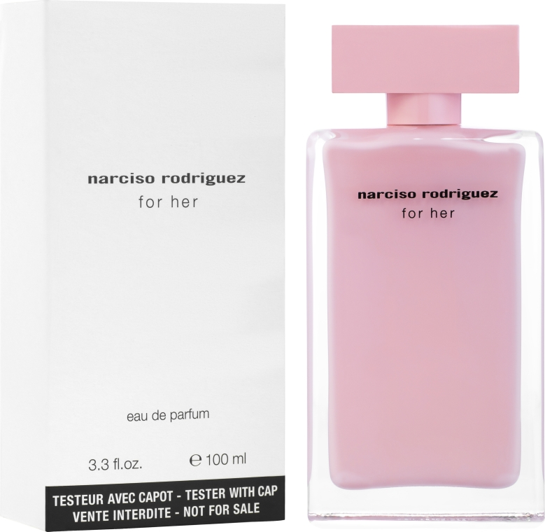 Narciso Rodriguez For Her - Парфюмна вода ( тестер без капачка )  — снимка N2