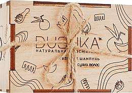 Парфюмерия и Козметика Твърд шампоан за суха коса - Dushka