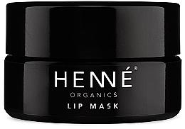 Парфюмерия и Козметика Маска за устни - Henne Organics Lip Mask