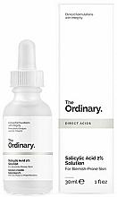 Парфюмерия и Козметика Серум за лице със салицилова киселина - The Ordinary Salicylic Acid 2% Solution