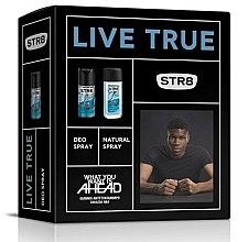 Парфюми, Парфюмерия, козметика STR8 Live True - Комплект (спрей за тяло/85ml + дезодорант/150ml)