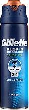 Парфюмерия и Козметика Гел за бръснене за чувствителна кожа - Gillette Fusion ProGlide Sensitive Cool & Fresh Shave Gel