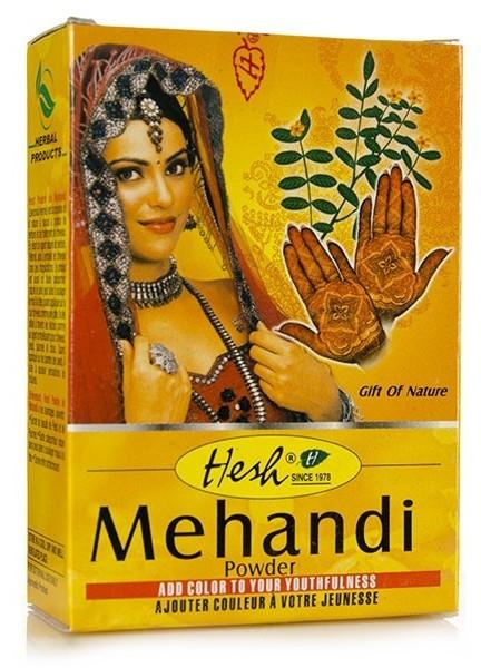 Порахообразна къна за коса - Hesh Mehandi Powder