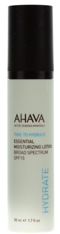 Овлажняващ лек крем SPF 15 - Ahava Essential Moisturizing Lotion Broad — снимка N2