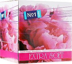 """Парфюми, Парфюмерия, козметика Двуслойни козметични кърпички """"Extra soft"""", 80бр - Bella"""