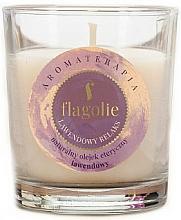 """Парфюмерия и Козметика Ароматна свещ """"Лавандула"""" - Flagolie Fragranced Candle Lavender Relax"""