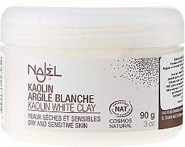 """Парфюмерия и Козметика Козметична глина за лице """"Бяла"""" - Najel Clay In Powder White"""
