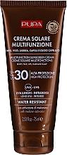 Парфюмерия и Козметика Хидратиращ слънцезащитен крем за тяло SPF 30 - Pupa Multifunction Sunscreen Cream