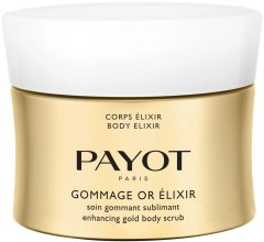 Парфюми, Парфюмерия, козметика Златен скраб за тяло - Payot Corps Elixir Gommage Or Elixir