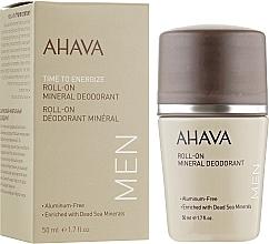 Парфюмерия и Козметика Дезодорант за мъже - Ahava Time To Energize Magnesium Rich Deodorant Roll-On