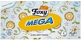 Парфюмерия и Козметика Ултра меки кърпички - Foxy Mega Ultra Soft Wipes