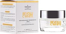 Парфюмерия и Козметика Възстановяващ крем за лице - Farmona Professional Revolu C White Blemish Reducing Cream SPF30
