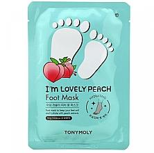 Парфюмерия и Козметика Маска за крака - Tony Moly I'm Lovely Peach Foot Mask