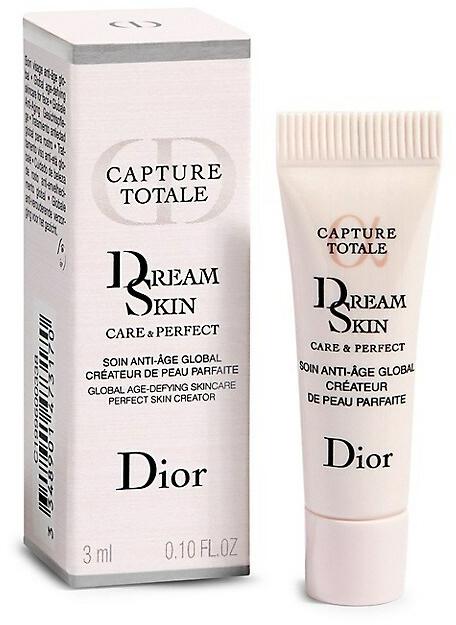 Интензивно хидратираща и подмладяваща емулсия за лице с озаряващ ефект - Dior Capture Totale Dream Skin (мини)