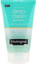 Парфюмерия и Козметика Детоксикиращ гел-скраб за лице - Neutrogena Skin Detox Cooling Gel Scrub