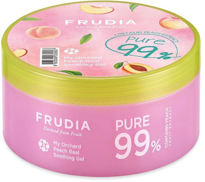 Универсален гел за лице и тяло с аромат на праскова - Frudia My Orchard Peach Real Soothing Gel