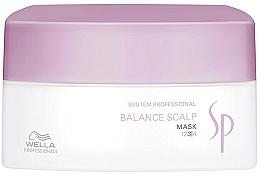 Парфюмерия и Козметика Маска за чувствителен скалп - Wella SP Balance Scalp Mask