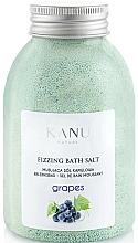 """Парфюмерия и Козметика Соли за вана """"Грозде"""" - Kanu Nature Grapes Fizzing Bath Salt"""