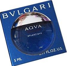 Парфюмерия и Козметика Bvlgari Aqva Pour Homme Atlantiqve - Тоалетна вода (мини)