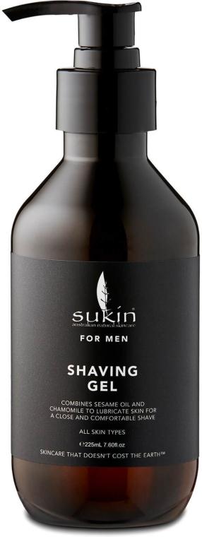 Мъжки гел за бръснене - Sukin For Men Shave Gel