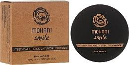 Парфюмерия и Козметика Избелваща пудра за зъби - Mohani Smile Teeth Whitening Charcoal Powder