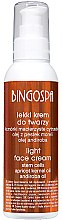 Парфюми, Парфюмерия, козметика Лек крем за лице с кайсиево масло - BingoSpa Light Face Cream With Apricot