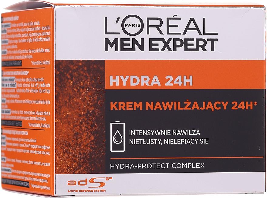 Интензивно-овлажняващ крем за лице - L'Oreal Paris Men Expert Hydra 24h Face Cream