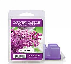 Парфюмерия и Козметика Ароматен восък - Country Candle Fresh Lilac Wax Melts