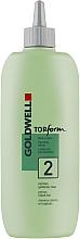 Парфюмерия и Козметика Лосион за къдрене за боядисана коса - Goldwell Topform 2