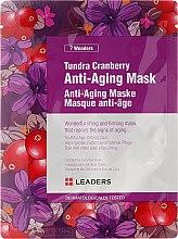 Парфюми, Парфюмерия, козметика Антистарееща маска за лице с червена боровинка - Leaders 7 Wonders Tundra Cranberry Anti-Aging Mask
