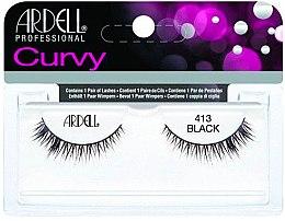 Парфюми, Парфюмерия, козметика Изкуствени мигли - Ardell Curvy Lash Black 413