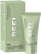 Парфюми, Парфюмерия, козметика Освежающая маска-пилинг с АНА-кислотами - Madara Cosmetics Brightening AHA Peel Mask