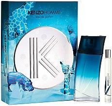 Парфюми, Парфюмерия, козметика Kenzo Homme - Комплект (парфюмна вода/100ml + парфюмна вода/15ml)