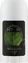 Парфюмерия и Козметика Дезодорант за мъже с 48-часово действие - Ryor Deodorant