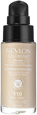 Фон дьо тен - Revlon ColorStay Foundation For Combination/Oily Skin SPF 15