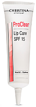 Парфюмерия и Козметика Хидратиращ и подхранващ балсам за устни - Christina Clinical ProClear Lip Care SPF 15